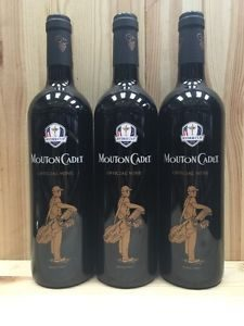 The official Ryder Cup wine, Mouton Cadet, is a real winner, just like USA! USA! (Courtesy of Mouton Cadet)